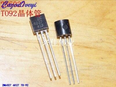 10 unids/lote 2N6027 6027 a-92 transistor de Unión Individual programable nuevo Original