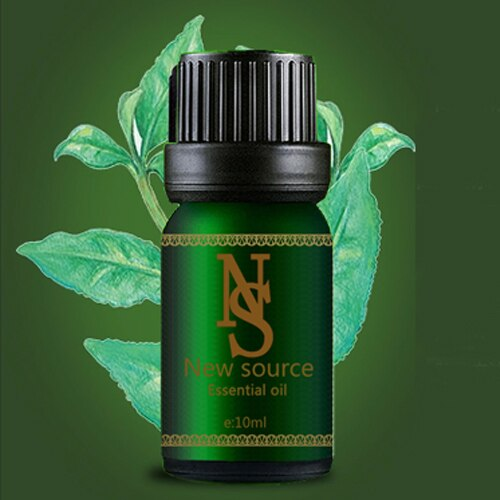 Free shopping plant essential oil tea tree essential oils 10ml Antidandruff anti-aging, anti-oxidation. Pure 100% skin care Z7