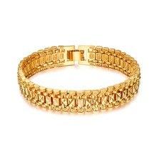Массивные мужские браслеты с ручными цепочками, мужские оптовые продажи, ювелирное изделие, Золотой/Серебряный цвет, браслеты с цепочками для Мужчин, Ювелирные изделия, pulseira masculina