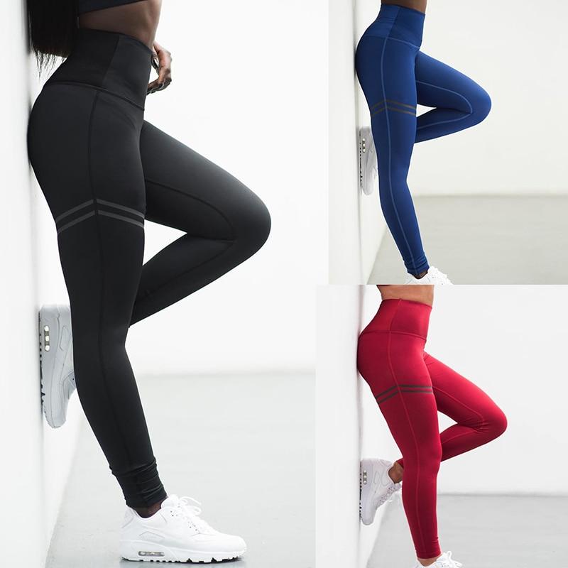Moda workout leggings mulheres de cintura alta leggings fitness legging poliéster respirável retalhos roupas jeggings 3 cores