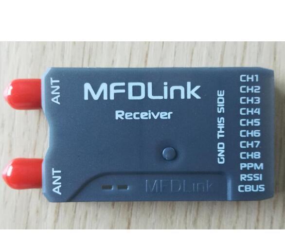 30KM Long Range MDF link 433Mhz 8 Channel FPV UHF System receiver