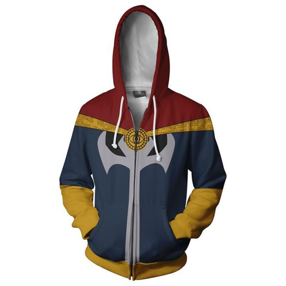 2019 NEW Avengers 4 Endgame Doctor Strange Cosplay Iron Man Costumes zipper jacket Hoodie halloween Captain America Sweatshirt