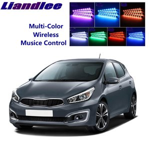 Liandlee Car Neon Color-Changing Light of Atmibient Inside Footwell Light For KIA Cee'd Ceed