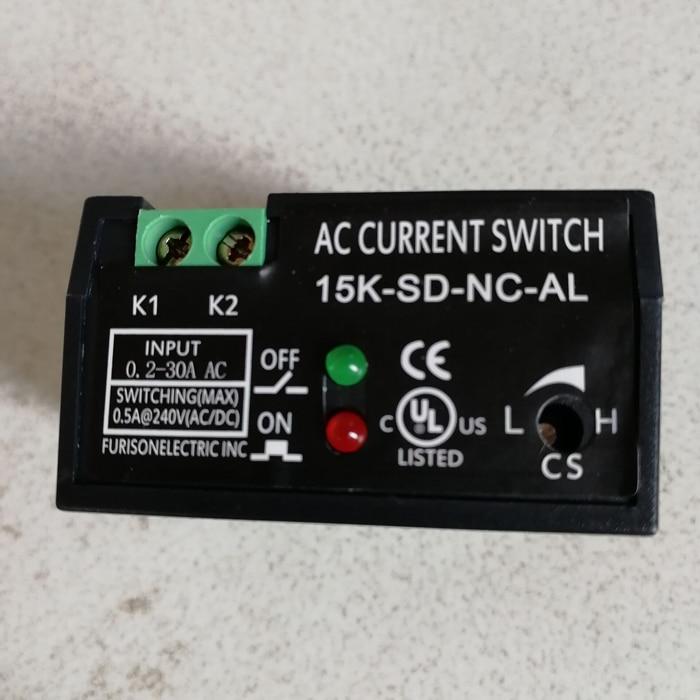 Transformador normalmente abierto interruptor de alarma normalmente cerrado protección de sobrecorriente de sobrecarga 15K-SD-NC-AL
