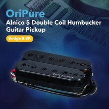 OriPure аксессуары для гитары черный винтажный Alnico 5 Humbucker Пикап двойная катушка электрогитара мост Пикап-8,8 k, теплый звук