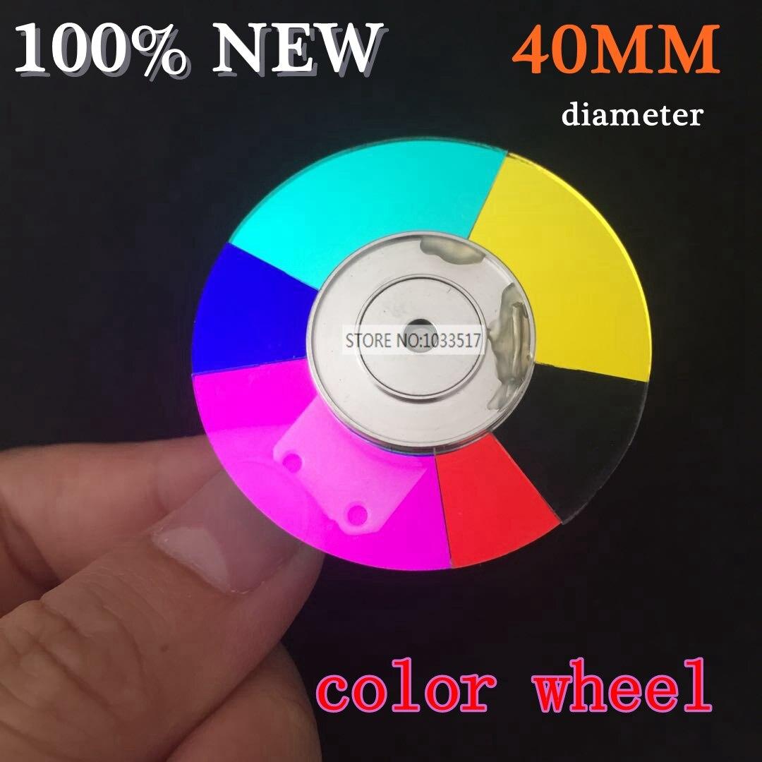 Rueda de color del proyector de 40 MM de diámetro para ACER D101E D103 D103 6 colores