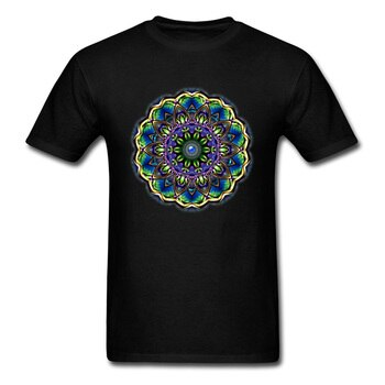 Thai Golden Mandala Graphic Tees Men New T Shirt History Culture Old Classical Tshirt For Men Custom Make Your Own T-Shirt