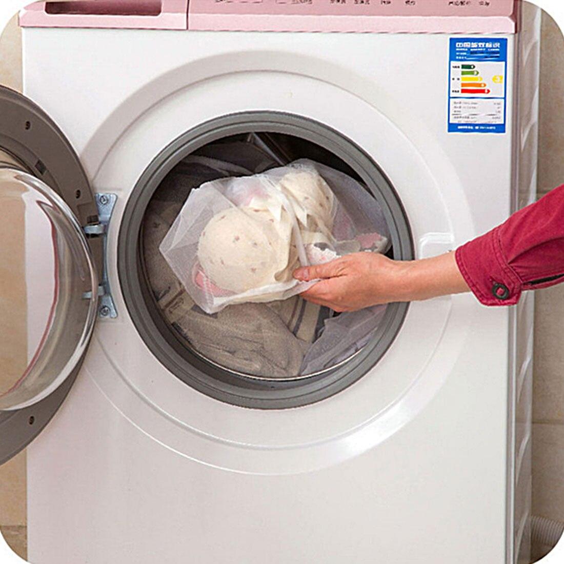 Wäsche Waschen Pflege 3 Größe Kordelzug Bh Unterwäsche Produkte Wäscherei Taschen Körbe Mesh Tasche Haushalts Reinigung Werkzeuge Zubehör