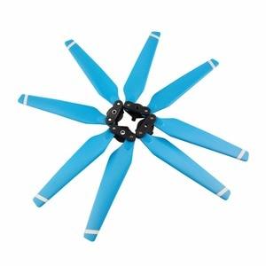 Foldable Blue 4 pcs/set propeller for DJI Mavic Pro drone quadcopter spare parts