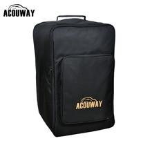 Acouway Standard adulte Cajon boîte tambour sac étui 600D 10MM rembourrage jeu de société sac arrière également pour camp de randonnée en plein air