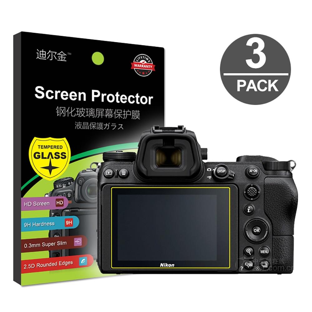 3x протектор экрана из закаленного стекла для Nikon Z6 Z7 Z50 D7500 D500 D850 D3500 D3400 D3300 D7200 D7100 D5600 D5500 D5300