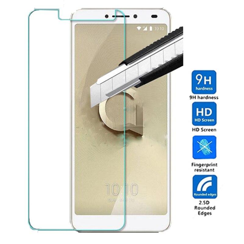 Vidrio Templado 9H para Alcatel 3 V Protector de pantalla película protectora para Alcatel 3 V 5099D 3 V 5099 6,0 pulgadas película de vidrio