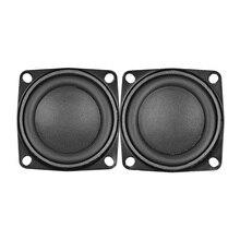AIYIMA 2Pcs 2Inch Audio Speaker Driver 53MM 4Ohm 10W Full Range Speakers Bass Multimedia Loudspeaker For Audio DIY