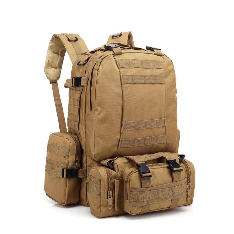 600D al aire libre mochila táctica militar mochila de alpinismo escalada Camping senderismo Trekking mochila