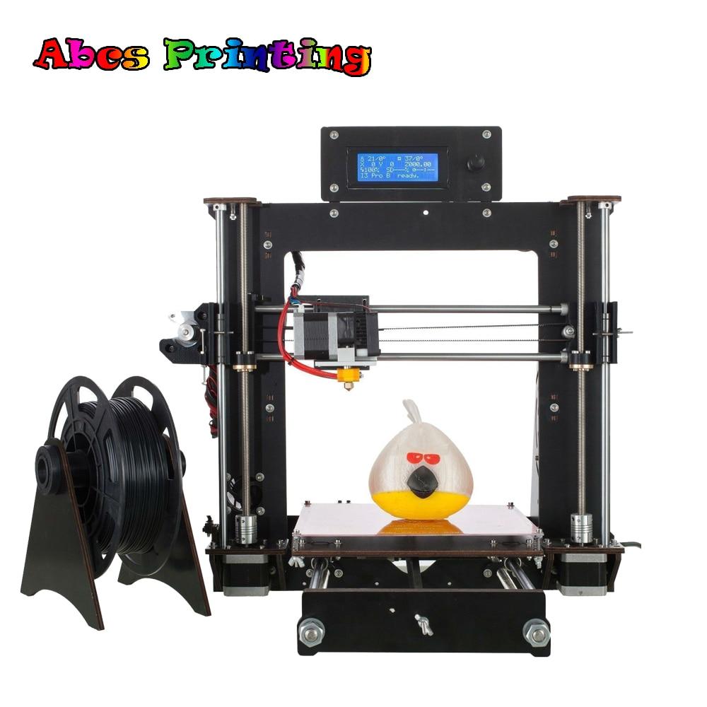 Mini 3D Printer Lastest A8 MK8 Prusa i3 3D Printer DIY  Durabel motor Power Failure Resume Printing Stampante 3D