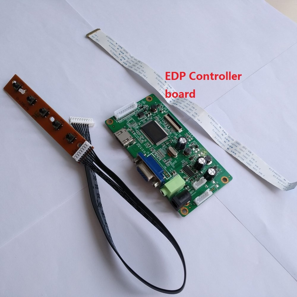 ل N173HGE-E21 EDP عدة VGA LED EDP 1920X1080 30Pin تحكم 17.3