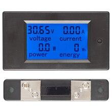 Compteur de consommation dénergie électrique instrument galvanomètre de tension PZEM-031 affichage numérique à courant continu