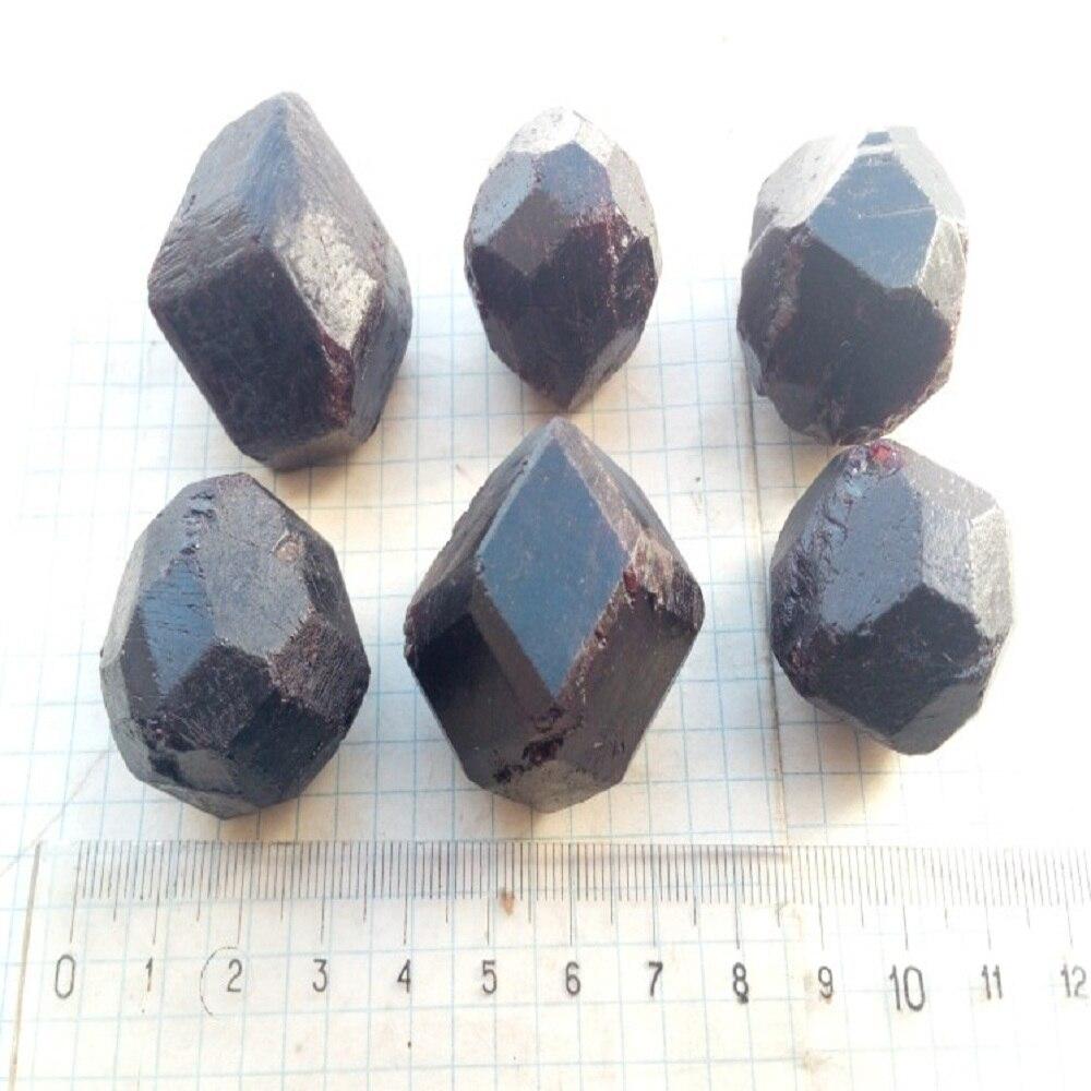 Granada irregular natural original original cristal vermelho granada espécimes originais muito reiki pedra mineral cru