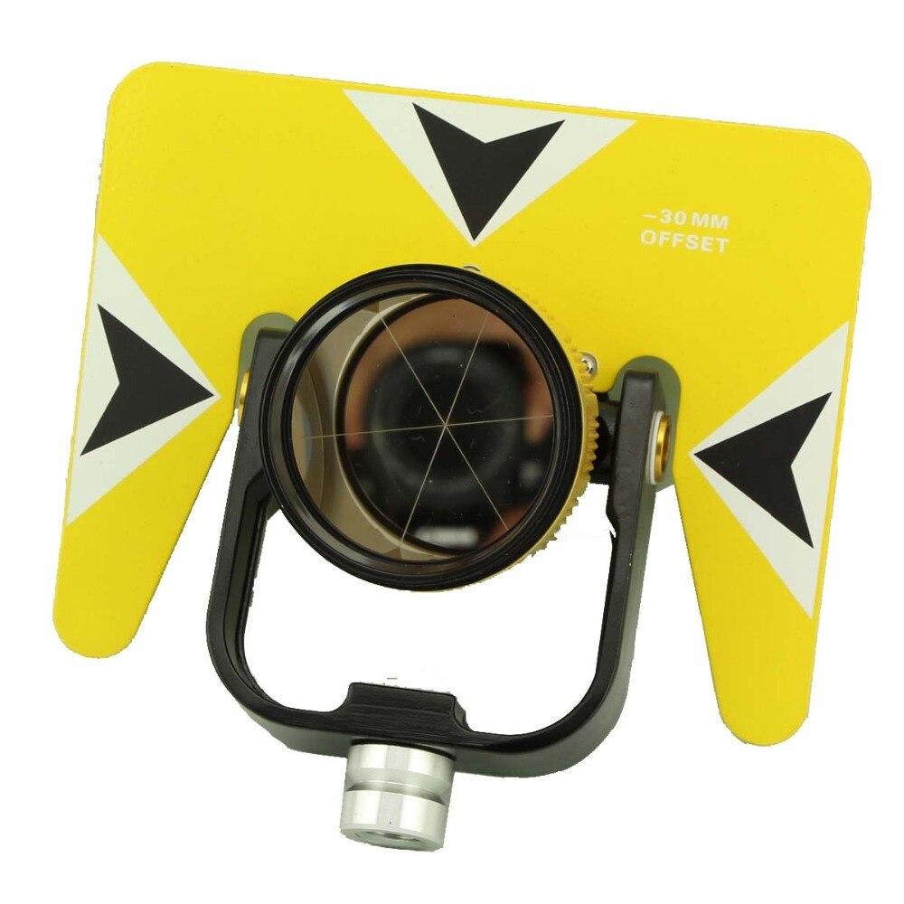 موشور أصفر مفرد مع حقيبة لمحطة total 5/8x11