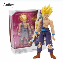 Dragon Ball Z Super Saiyan Son Gohan bataille dommages PVC figurine à collectionner modèle jouet 14cm KT4233