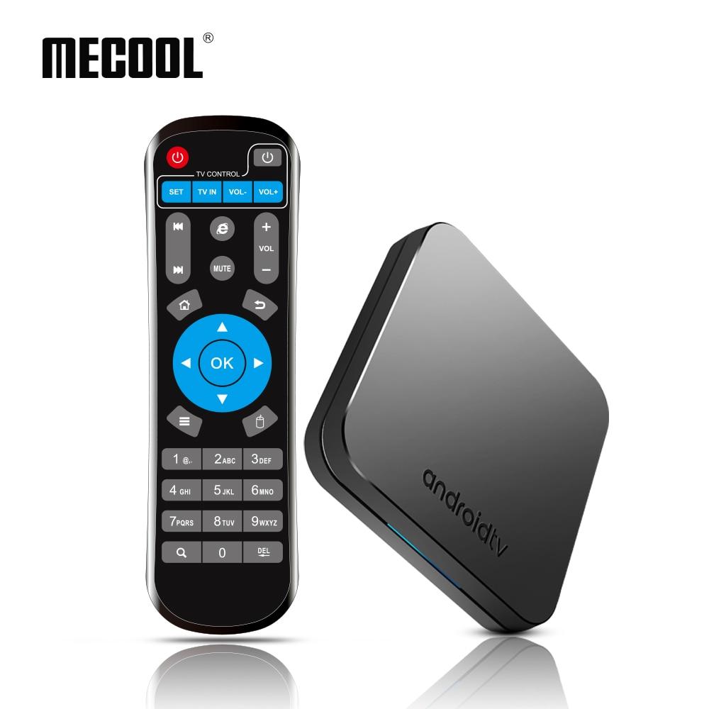 5 pçs/lote MECOOL S905X2 KM9 Android 9.0 Caixa De TV Amlogic Quad Core 4G DDR4 32G ROM 4K caixa De TV USB 3.0 Inteligente Media Player