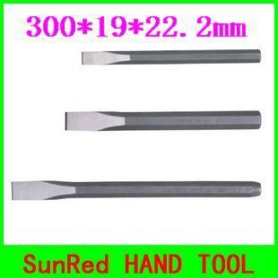 APRESSARÁS taiwan alta qualidade 300*19*22.2 MM Octogonal pedra carving cinzel ferramenta indústria de vanádio NO. 09217 freeshipping