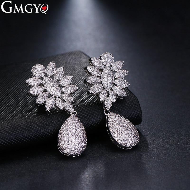 GMGYQ-pendientes recién llegados Modernos para Mujer, Aretes De diseño Con Cristales, accesorios...