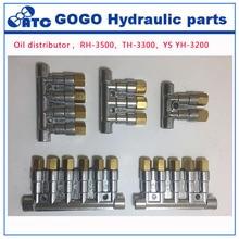 Detective volumetric Grease Oil distributor/separator valve divider 5 outlets for centralized lubrication system RH3500
