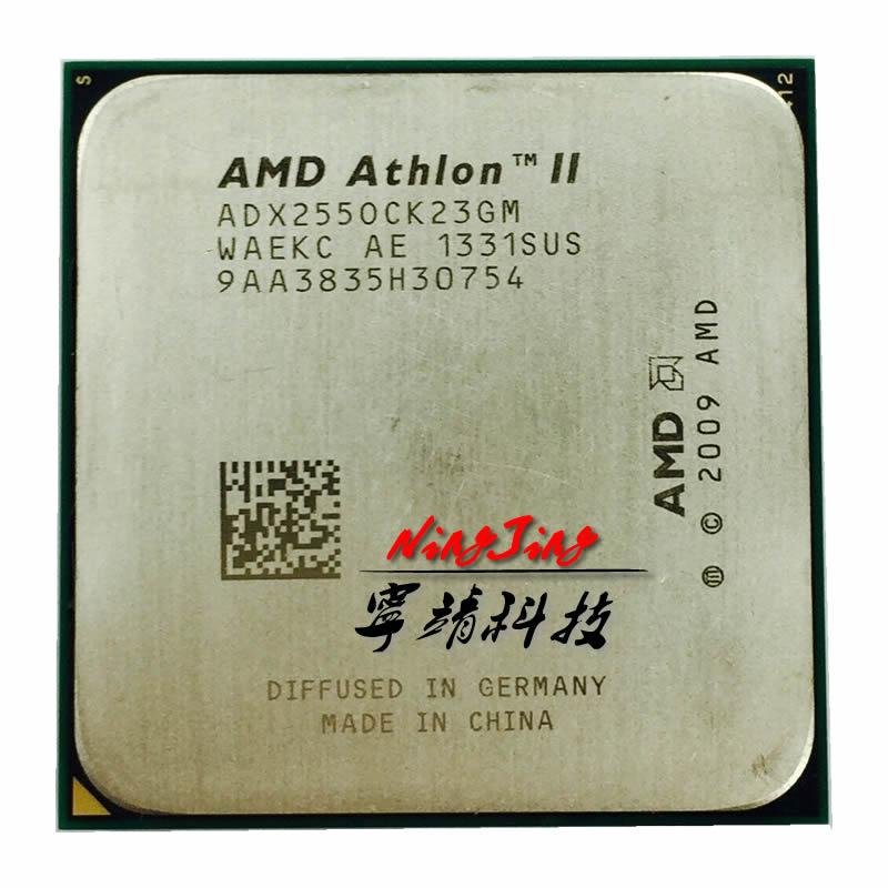 Procesador de CPU Dual Core AMD Athlon II X2 255 3,1 GHz ADX255OCK23GQ/ADX255OCK23GM Socket AM3
