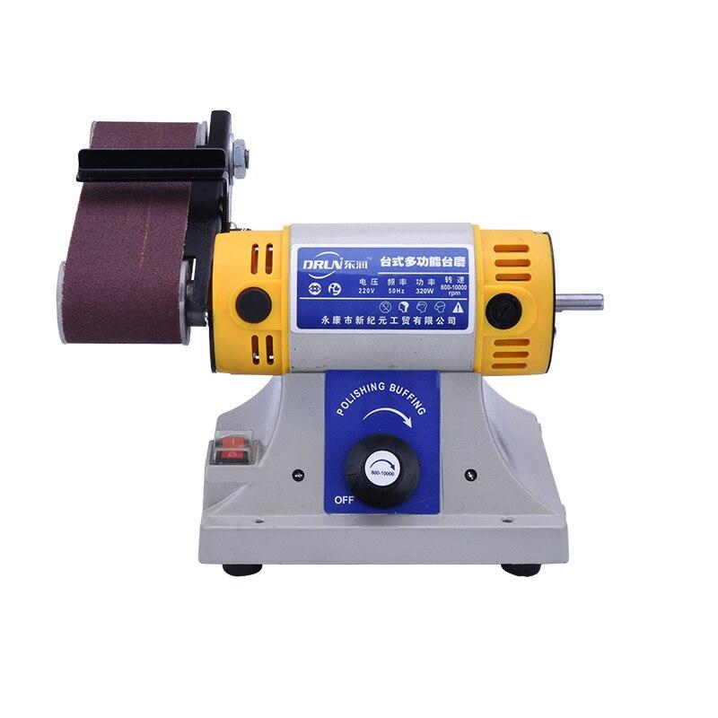 220V multi-fonction électrique ponceuse à bande bois métal Jade polissage rectifieuse Y