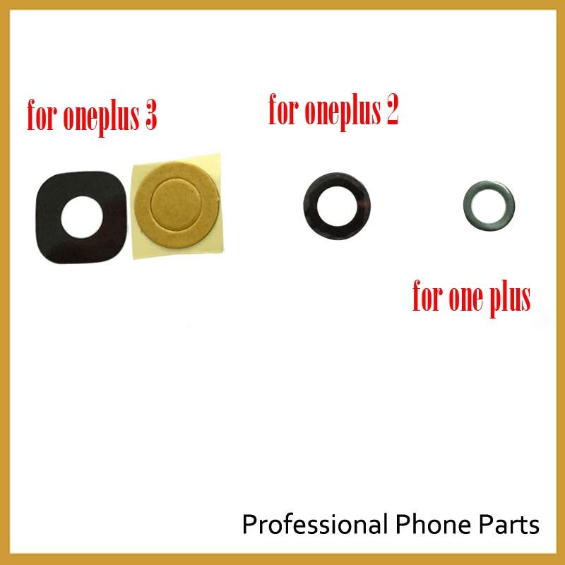Oneplus Original Para Oneplus 3 Oneplus3 2 Voltar Câmera Traseira Lente de Vidro Com Peças de Reposição de Toque Adhensive