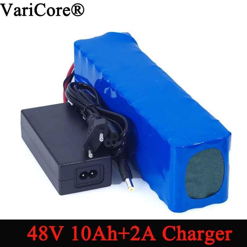 VariCore e-bike battery 48v 10ah 18650 li-ion battery pack bike conversion kit bafang 1000w + 54.6v Charger