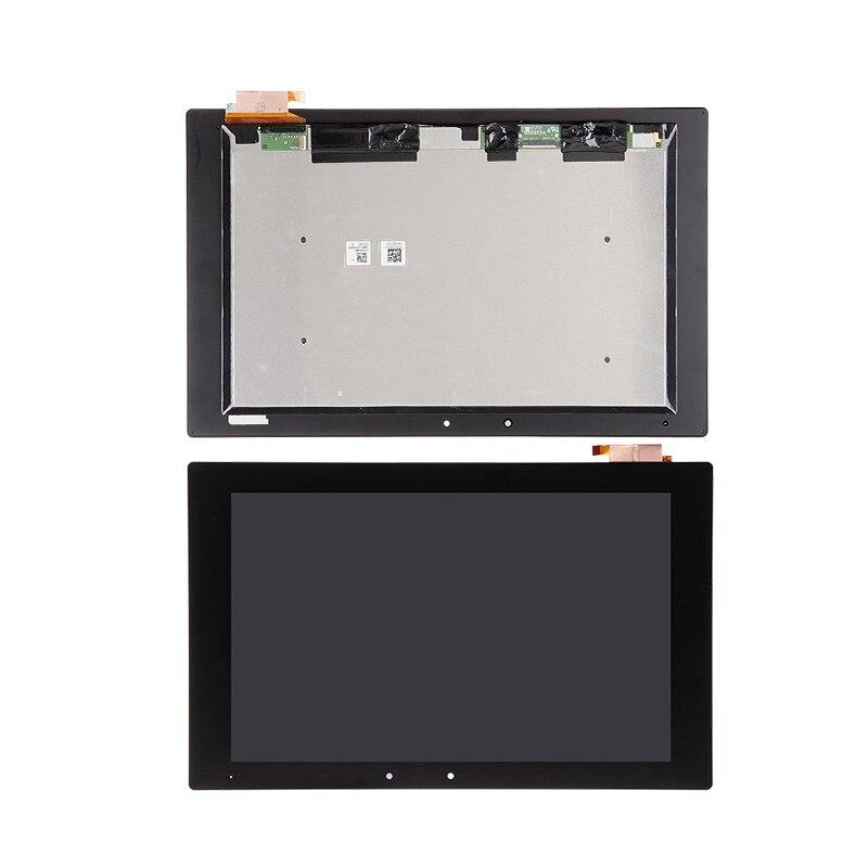 Para Sony Tablet Xperia Z2 SGP511 SGP512 SGP521 SGP541 Digitalizador de pantalla táctil Panel LCD conjunto de piezas de reparación Combo