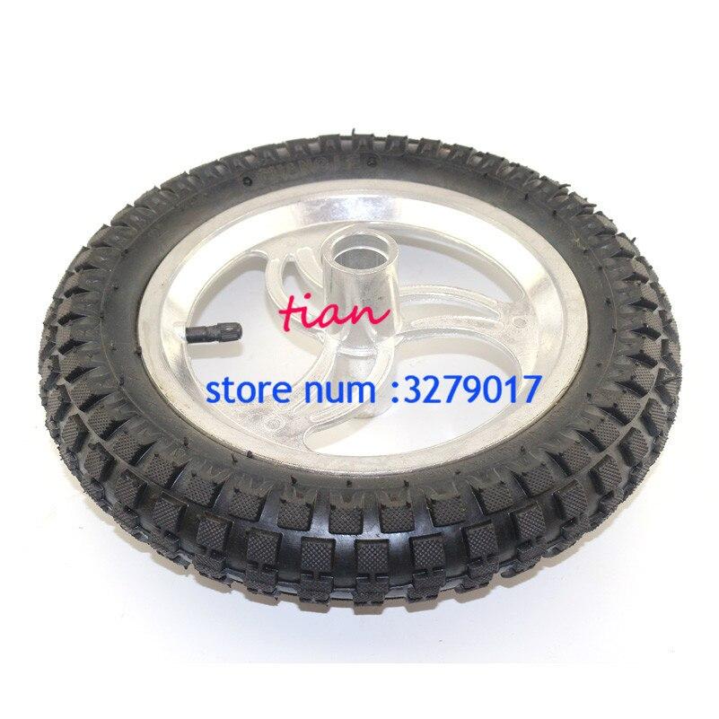 BESTE 12 1/2x2,75 12,5x2,75 Reifen + Innere rohr + hub Für Mini Dirt Bike Reifen Rasiermesser Rakete MX350 MX400 roller