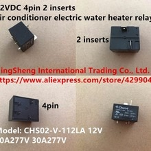 Original new 100% import T91 CHS02-V-112LA air conditioner electric water heater relay 12V/40A inste