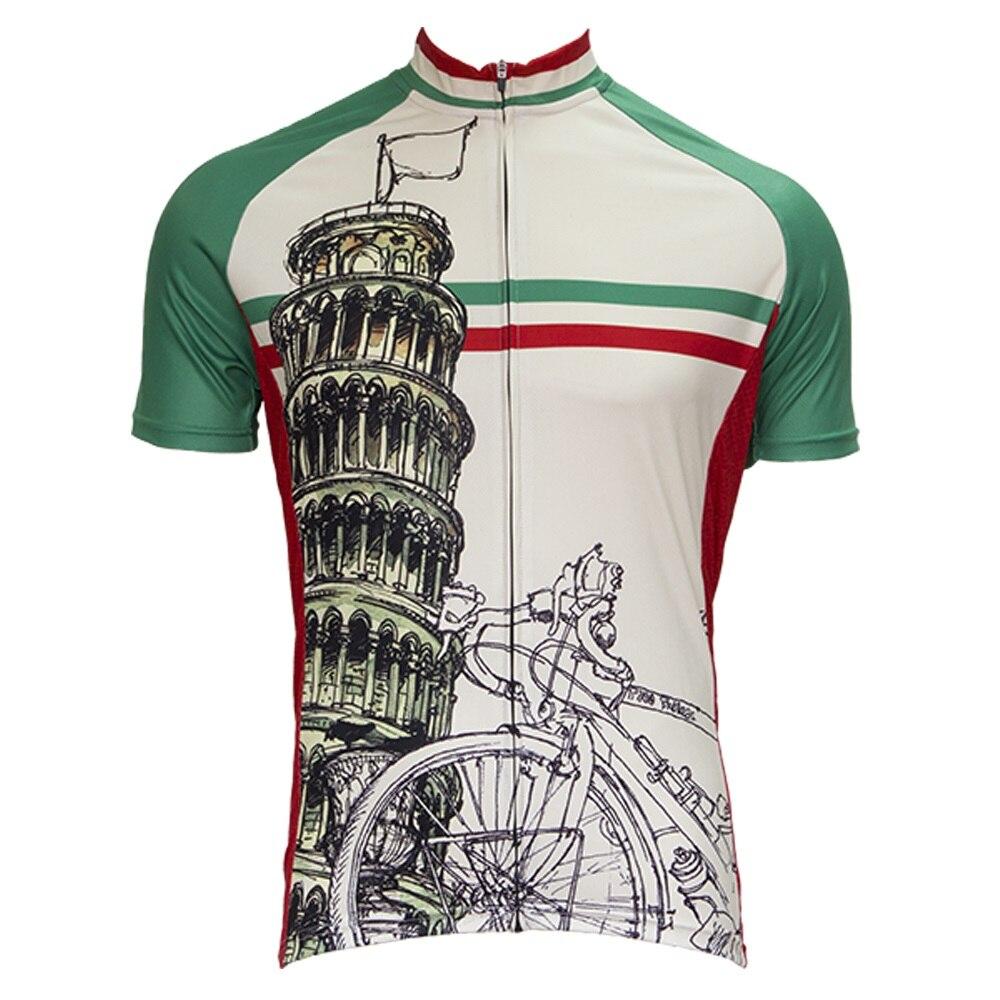 2018 nueva bandera de Italia ciclismo Jersey de manga corta ropa de ciclismo ropa para ciclismo bicicleta top Shirt