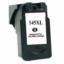 Cartouche de cartouches dencre remises à neuf pour Canon PG-145 XL PG-145XL PG 145 PG145 Pixma MG2410 MG2510 imprimante à jet dencre