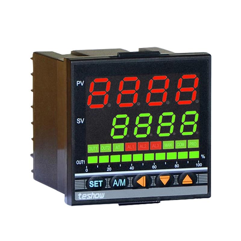 TESHOW EM705 متحكم في درجة الحرارة FKA4-MN * AN-B PID تحكم 0-1300 درجة مئوية قواطع التحكم الناتج