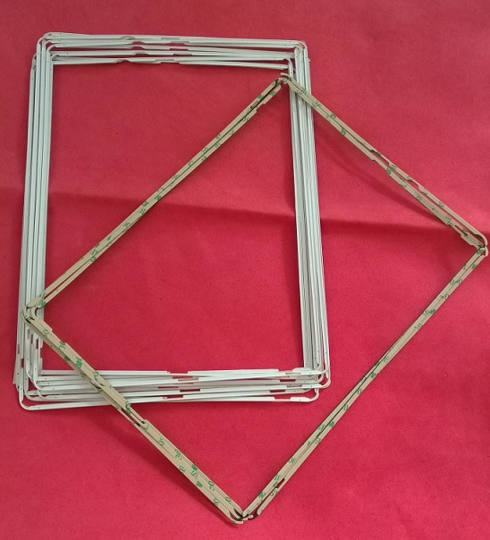 200 unids/lote marco medio LCD para ipad 2 3 4 Digitalizador de pantalla táctil bisel medio con adhesivo piezas de reparación