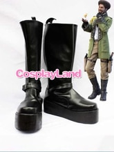 Final Fantasy XIII Sazh Katzroy/ботинки для косплея; Вечерние ботинки для косплея; Обувь для взрослых