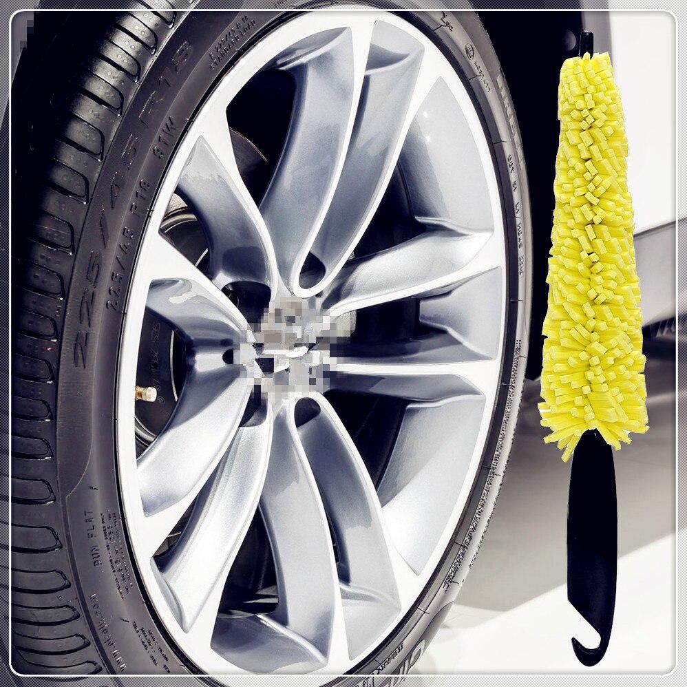 Cepillo de lavado de rueda de coche, herramienta de lavado de llanta para Honda Everus Clarity Civic Accord Urban FCX Brio 3R-C