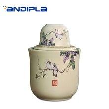 Jingdezhen-tasse à saké en céramique   Flacon de hanche, réservoir de Liqueur chaude, plateau de tasse, Vintage accueil vin ustensiles de cuisine, tasse à thé, bouilloire