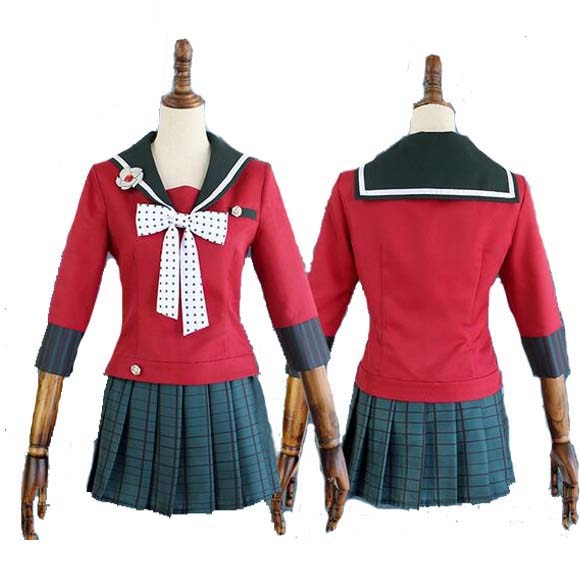 Cosplay jogo japonês danganronpa v3 matando harmonia harukawa maki escola uniformes terno cos roupas
