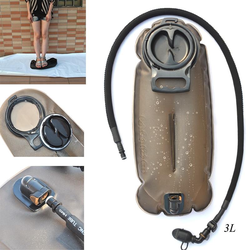 Bolsa de agua TPU de 2L 2,5l 3L para exteriores militar, sistema de hidratación para escalada, senderismo, bolsa de supervivencia, mochila, envío gratis