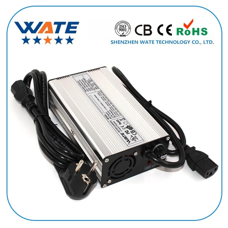 48V 4A E-الدراجة ليثيوم بطارية charger-54.6V 4Amp 13S يبو/LiMnO4 بطارية شاحن عالية الجودة مع الألومنيوم الإسكان CE و بنفايات