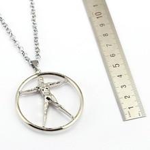 12Pcs/lot Westworld Long Necklace Women TV Series 3D Logo Robot Model Metal Alloy Necklaces   Pendants Jewelry colar feminino
