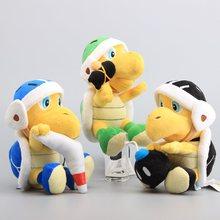 3 Styles Super Mario bombe Boomerang Koopa Troopa bombe & marteau tortue poupées en peluche enfants jouet 8