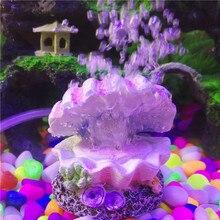 Perła i muszla akwarium zabawki ornament dekoracyjny pompa tlenu kamień napowietrzający napęd pompy powietrza 4mm Tube Nice