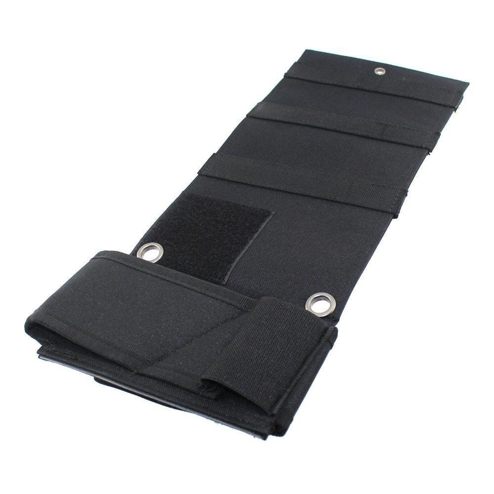 Adjustable Under Mattress Under Car Seat Desk Holder Closet Wall Hanging Holster with Flashlight Loop Magazine Holder -35