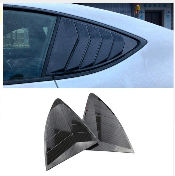 Para Toyota 86 GT86 FT86 Subaru BRZ 2012-2018 accesorios de coche ventana trasera lateral decoración del obturador cubierta embellecedor accesorios de coche